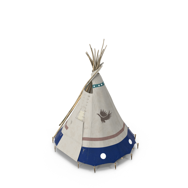 Traditional Canvas Teepee PNG & PSD Images