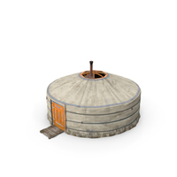 Traditional Mongolian Yurt PNG & PSD Images