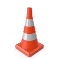 Traffic Cone Reflective PNG & PSD Images