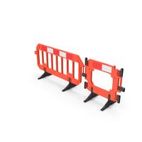 Traffic Management Road Safety Barrier Set PNG & PSD Images