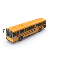 Transit School Bus Exterior Only PNG & PSD Images