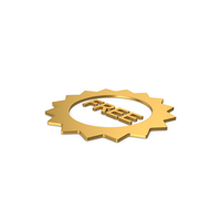 Gold Symbol Free Badge PNG & PSD Images