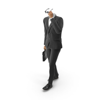 Bag and Sunglasses Suit Black PNG & PSD Images