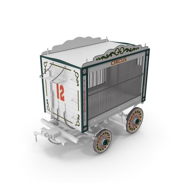 Traveling Circus Wagon PNG & PSD Images