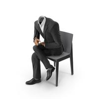 Chair Discussion Suit Black PNG & PSD Images