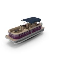 Trimaran Pontoon Boat PNG & PSD Images