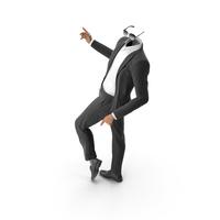 Dancing Sunglasses Suit Black PNG & PSD Images