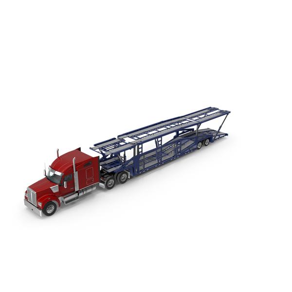 Truck Hauler Trailer PNG & PSD Images
