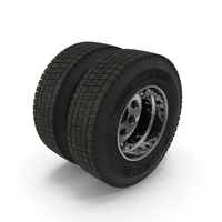 Truck Rear Wheels PNG & PSD Images