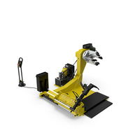 Truck Tyre Changing Machine PNG & PSD Images