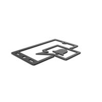 Black Symbol Phone Notification PNG & PSD Images