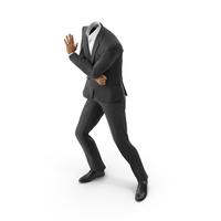 Holds Door Suit Black PNG & PSD Images