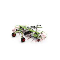 Twin Rotor Hay Rake Claas Liner 2700 PNG & PSD Images