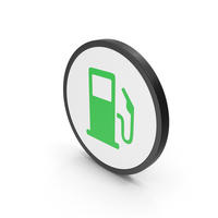Icon Fuel Station Green PNG & PSD Images