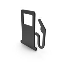 Symbol Fuel Station Black PNG & PSD Images