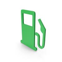 Symbol Fuel Station Green PNG & PSD Images