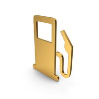 Symbol Fuel Station Gold PNG & PSD Images