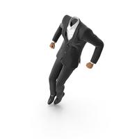 Jumped Up Suit Black PNG & PSD Images