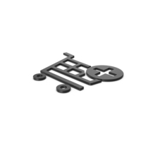 Black Symbol Add To Shopping Cart PNG & PSD Images