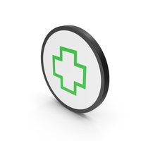 Icon Cross Green PNG & PSD Images