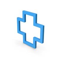 Symbol Cross Blue PNG & PSD Images