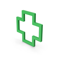 Symbol Cross Green PNG & PSD Images