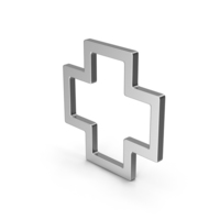 Symbol Cross Silver PNG & PSD Images