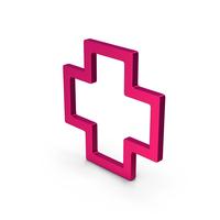 Symbol Cross Metallic PNG & PSD Images