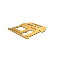 Gold Symbol Market PNG & PSD Images