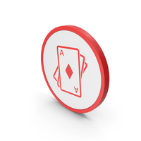 Icon Playing Cards Red PNG & PSD Images