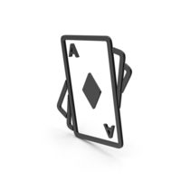 Symbol Playing Cards Black PNG & PSD Images