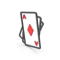 Symbol Playing Cards Red PNG & PSD Images
