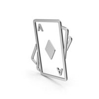 Symbol Playing Cards Silver PNG & PSD Images