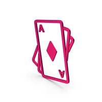 Symbol Playing Cards Metallic PNG & PSD Images