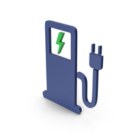 Symbol Electric Vehicle Charging Station PNG & PSD Images