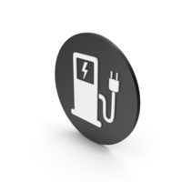Electric Vehicle Charging Station Icon PNG & PSD Images