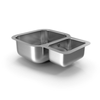 Undermount Double Bowl Kitchen Sink PNG & PSD Images