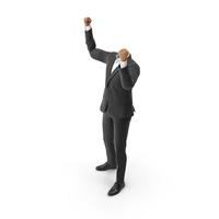 Success Hads Up Suit Black PNG & PSD Images