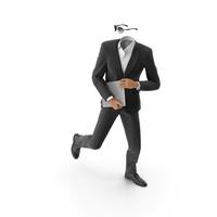 Stolen Information Suit Black PNG & PSD Images
