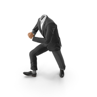 Sneaks Up Suit Black PNG & PSD Images