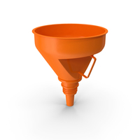 Universal Petrol Plastic Funnel with Handle PNG & PSD Images