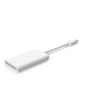 USB Type C to SD Card Reader PNG & PSD Images