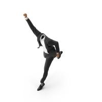 Success Running Suit Black PNG & PSD Images