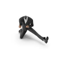 Success Happy Suit Black PNG & PSD Images