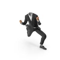 Success Happy Hads Up Suit Black PNG & PSD Images