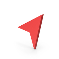 Symbol Send Button / Arrow Red PNG & PSD Images