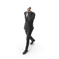 Talking Phone Suit Black PNG & PSD Images