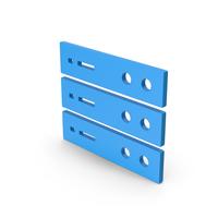 Symbol Server Blue PNG & PSD Images