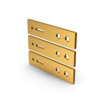 Symbol Server Gold PNG & PSD Images