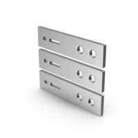 Symbol Server Silver PNG & PSD Images